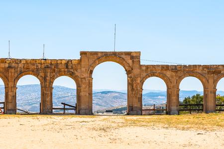 Hippodrome of Gerasa, modern Jerash, Jordan