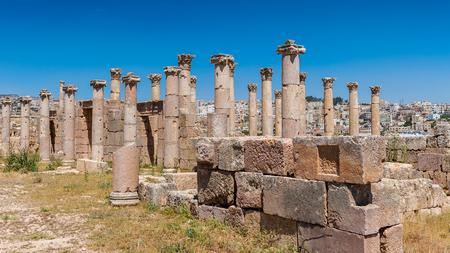 Church of Saint Theodore,  Ancient Roman city of Gerasa of Antiquity , modern Jerash, Jordan