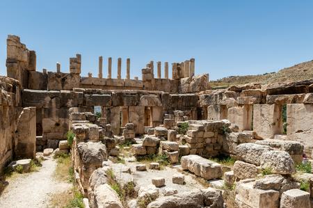 Qasr al Abd, a large ruin in Iraq Al Amir, Jordan.