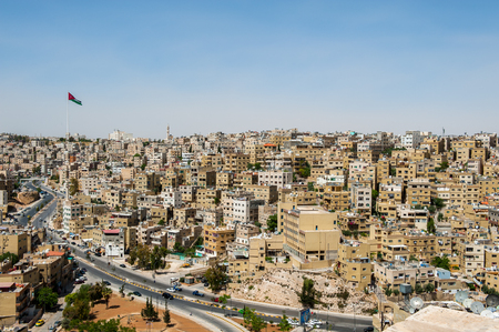 City of Amman, the capital of Jordan 免版税图像