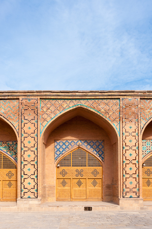Mosque Jameoji in Qazvin, Iran Stock Photo