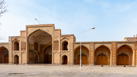 Mosque Jameoji in Qazvin, Iran Stock Photo