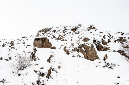 Alvand Mountain in Iran.