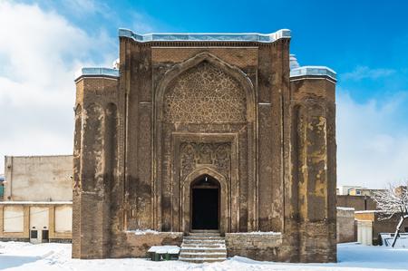 Gonbade Alavian in Hamadan, Iran. Iran's Cultural Heritage 스톡 콘텐츠