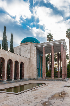 Saadi's mausoleum in Shiraz, Iran.