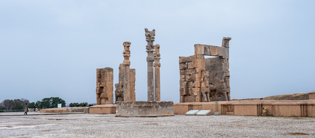 Gateway of All the nations in the ancient city of Persepolis, Iran.