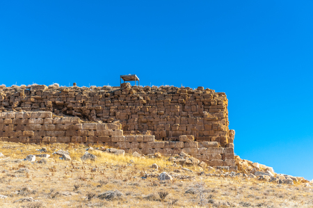 The prison of Solomon, Ancient Persian city of Pasargad, Iran. Stock Photo