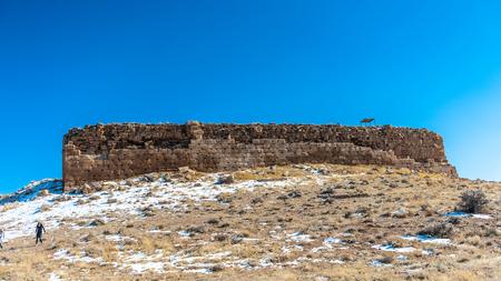 The prison of Solomon, Ancient Persian city of Pasargad, Iran. Stock Photo