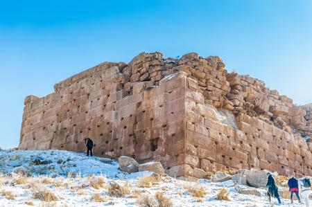 The prison of Solomon, Ancient Persian city of Pasargad, Iran. UNESCO World Heritage