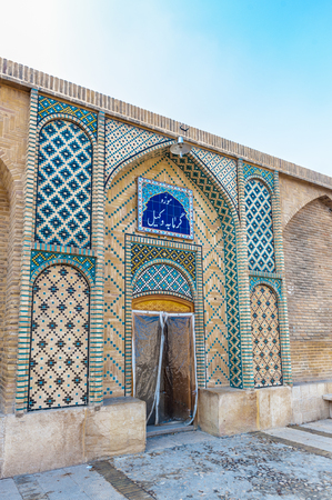 Vakil Public Bath Wax Museum in Shiraz, Iran