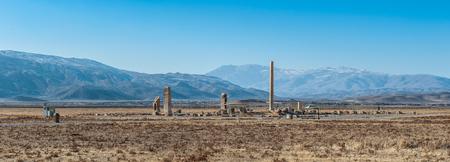 Ancient Persian city of Pasargad, Iran.
