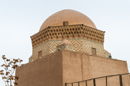 12 emams temple in Yazd, Iran 写真素材