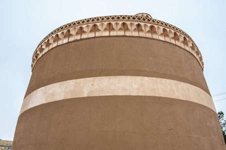 Huge dovecote in Meybod, Iran. One of the touristic attractions in Meybod