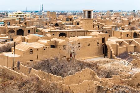 Meybod old town, Iran Banco de Imagens