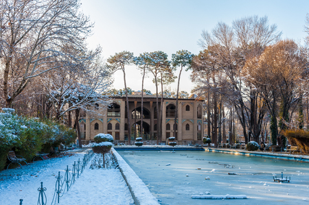 Hasht Behesht Palace (Eight Paradises) is a Safavid era palace in Isfahan, Iran. It was built in 1669 and is protected by Irans Cultural Heritage Organization.