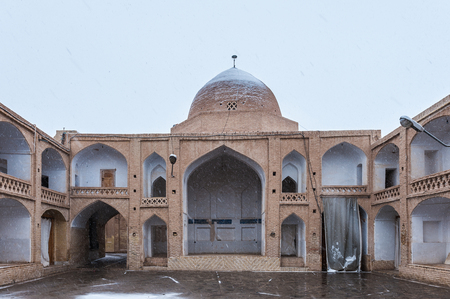Jameh Mosque of Nain, the grand, congregational mosque of Nain city, within Isfahan Province of Iran. It is one of the oldest in Iran. Irans Cultural Heritage Organization.