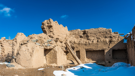 Destoyed house in Iran Reklamní fotografie