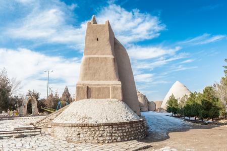 Fortress walls, called Ghaleh Jalali in Kashan, Iran