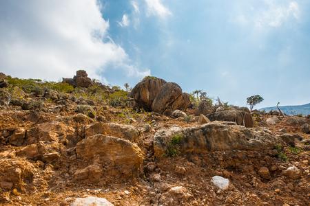 Stones on the Socotra Island, Yemen