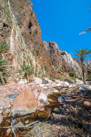 Beautiful nature of the Socotra Island, Yemen Stock Photo