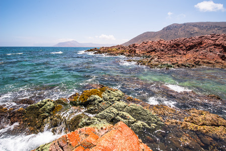 Rocks and other formations of th Socotra Island