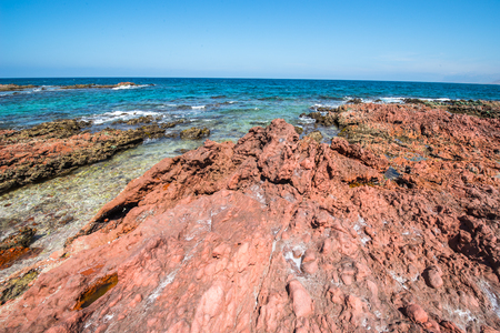 Socotra Island, Yemen. UNESCO World Heritage Stock Photo