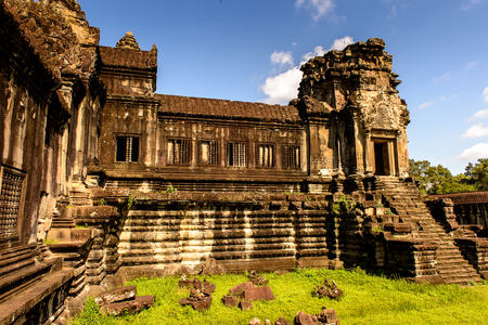Angkor Wat, Cambodia, the largest religious monument in the world