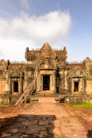 Banteay Samre, a temple at Angkor, Cambodia. It's named after the Samre, an ancient people of Indochina Banco de Imagens