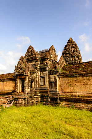 Banteay Samre, a temple at Angkor, Cambodia. Its named after the Samre, an ancient people of Indochina