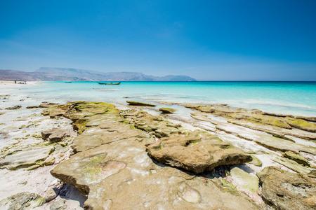 Coast of the Indian Ocean Stock Photo