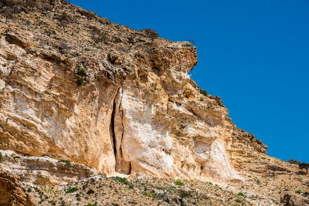 Rocks of Socotra Island, Yemen Stock Photo
