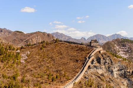 Great Wall of China. One of the Seven Wonders of the world.