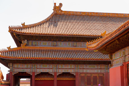 Forbidden City, Palace Museum. Imperial Palaces of the Ming and Qing Dynasties in Beijing and Shenyang. UNESCO World Heritage