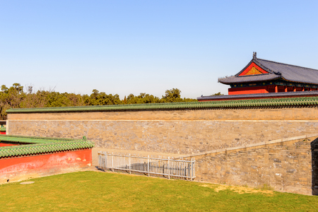 Temple of Heaven complex, an Imperial Sacrificial Altar in Beijing. UNESCO World Heritage