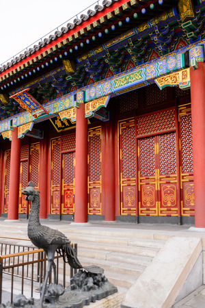 Hall of Benevolence and Longevity at the Summer Palace complex, an Imperial Garden in Beijing. UNESCO World Heritage.
