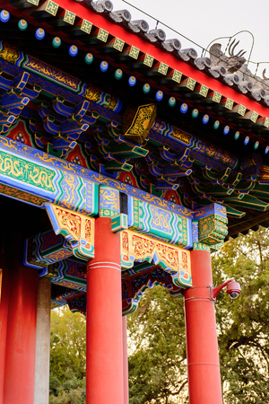 Hall of Benevolence and Longevity at the Summer Palace complex, an Imperial Garden in Beijing.