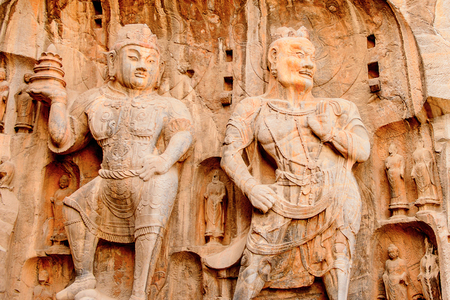 Longmen Grottoes ( Dragons Gate Grottoes) or Longmont Caves.