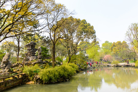 The Humble Administrator's Garden, a Chinese garden in Suzhou