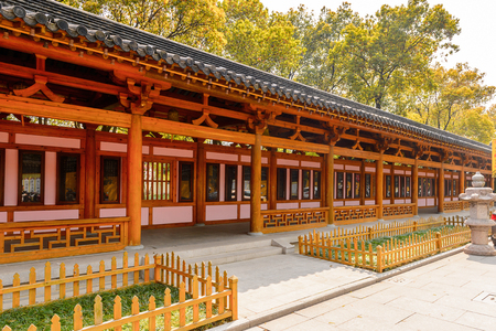 Bao'en Temple complex in Suzhou, Jiangsu Province, China. One of the Buddha temples in China