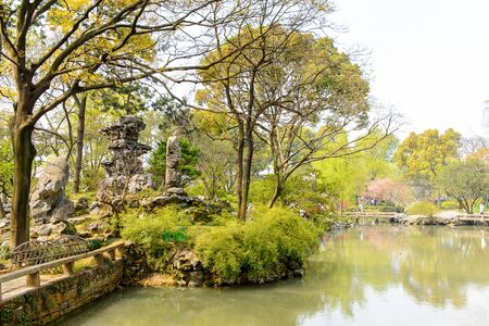 The Humble Administrators Garden,  a Chinese garden in Suzhou, a UNESCO World Heritage Site
