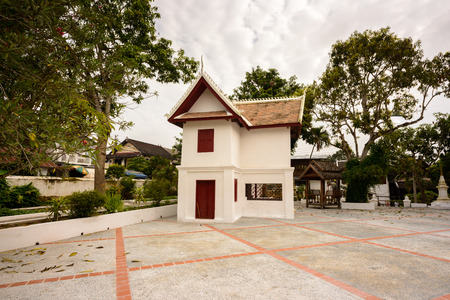 Part of the Vat sen complex , one of the Buddha complexes in Luang Prabang 写真素材