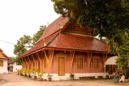 Vat sen, one of the Buddha complexes in Luang Prabang Stock Photo