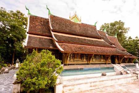 Vat Xienhgtong, one of the Buddha complexes in Luang Prabang