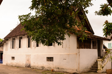 Vat sen, one of the Buddha complexes in Luang Prabang 写真素材