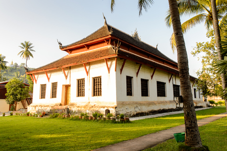 Vat Visounnarath, one of the Buddha complexes in Luang Prabang which is the UNESCO World Heritage city Stock Photo