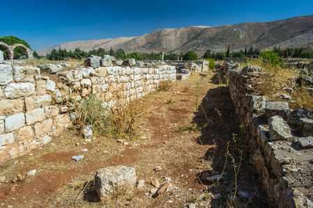 Site of the nature of the Umayyad city of Anjar