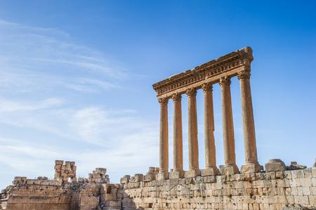 Jupiter temple of Baalbek, Lebanon