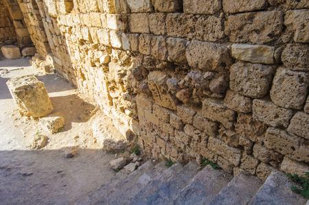 Ruins of Byblos, Lebanon. 스톡 콘텐츠