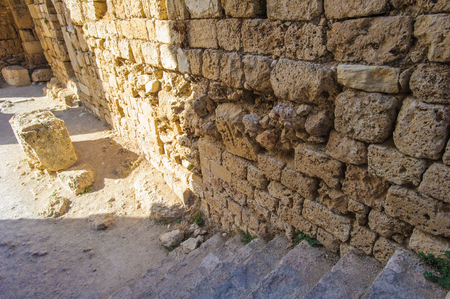 Ruins of Byblos, Lebanon. 版權商用圖片