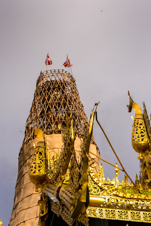 Sone Oo Pone Nya Shin Pagoda, Sagaing Hill, Myanmar